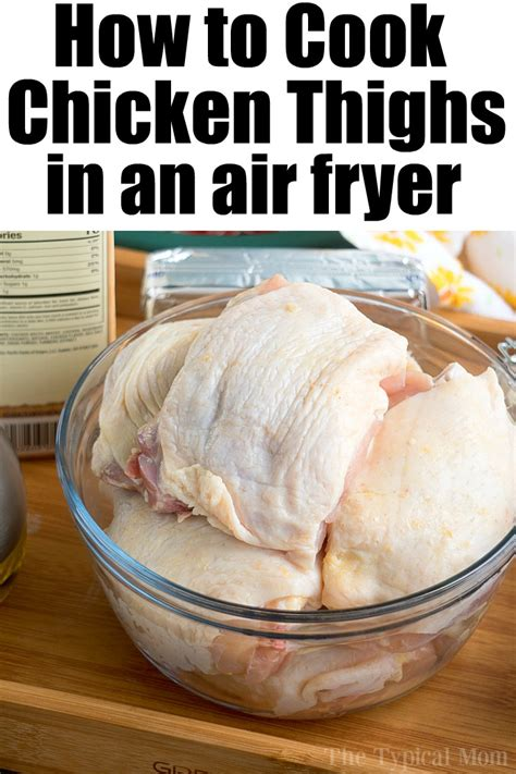 fryer thighs chicken air recipes ninja foodi grill oven typical mom dry thigh fried recipe temeculablogs pressure ever instant spicy