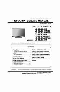 Sharp 25ub1 Sch Service Manual Download  Schematics