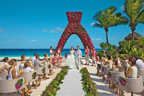 weddings  dreams riviera cancun resort spa