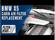 BMW X5 E53 Air Filter & PCV Replacement How to DIY BMT