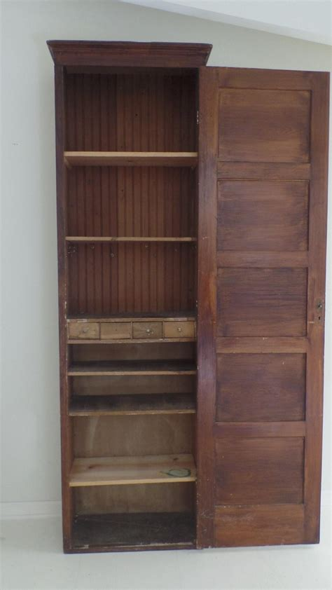 rustic storage cabinet with doors rustic tall narrow wood storage cabinet with one door