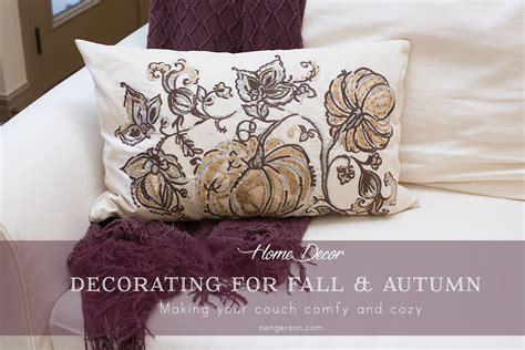 Pottery Barn Sofa Pillows by Fall Decorating Ideas
