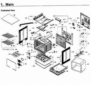 Samsung Electric Range Parts