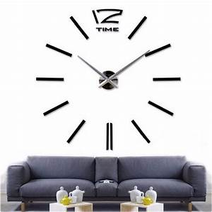Aliexpress buy new home decor big wall clock