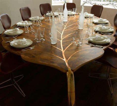 25 interessante Beispiele für moderne Massivholztische