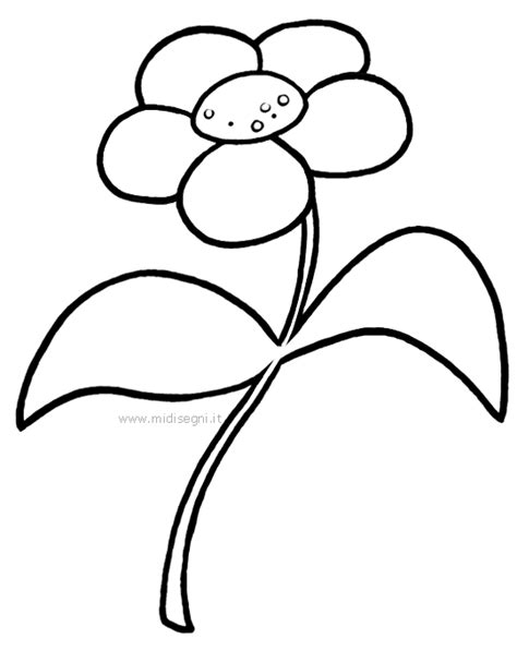 midisegni fiori disegni da colorare per bambini midisegni it