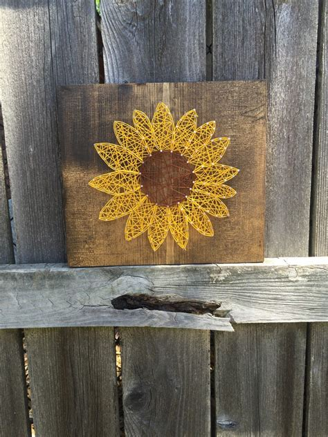 string art sunflower mothers day gifts gifts