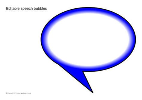 editable speech bubbles reversed