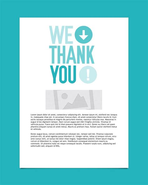 thank you email template thank you email marketing templates thank you email templates