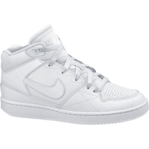 nike priority mid basket montante toute blanche