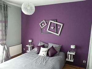 Idees Deco Chambre : idee deco papier peint chambre adulte decoration d 39 interieur idee ~ Melissatoandfro.com Idées de Décoration