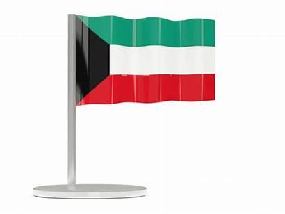 Kuwait Flag 3d Waving