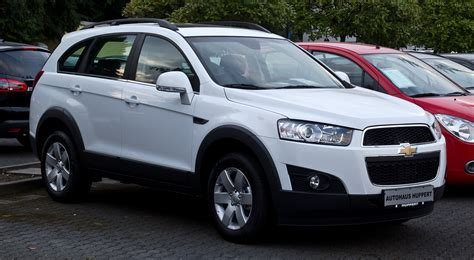 Chevrolet Captiva by File Chevrolet Captiva Lt 2 2 D 2wd Travel Edition