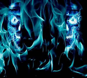 Blue skull Photos | HD Wallpapers Pics