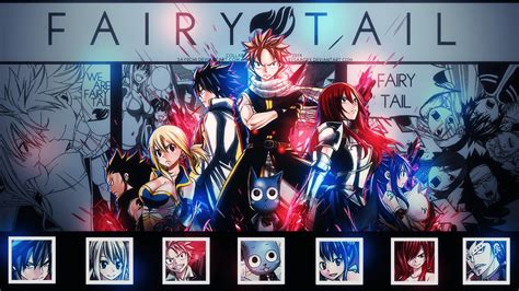 fairy tail anime hd wallpapers wallpaper cave