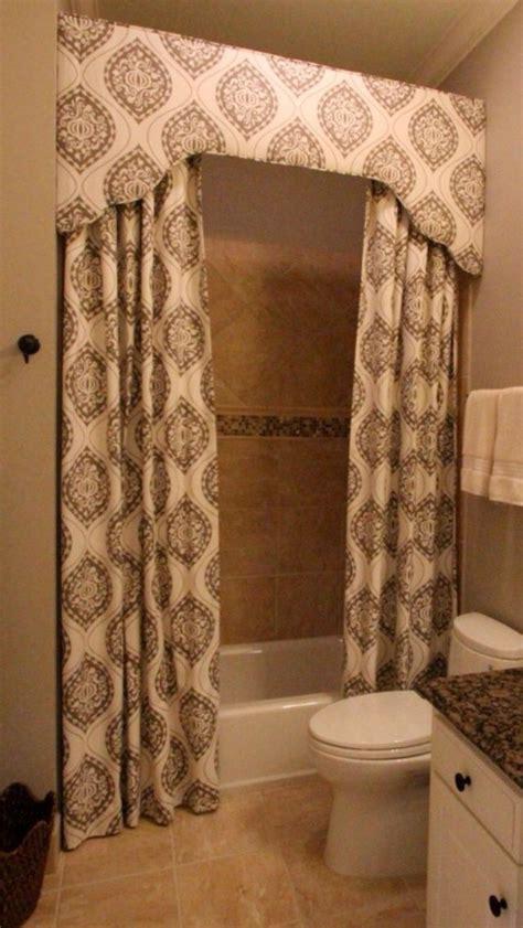 Bathroom Window Curtain Valance by 23 Bathroom Shower Curtain Ideas Photos Remodel
