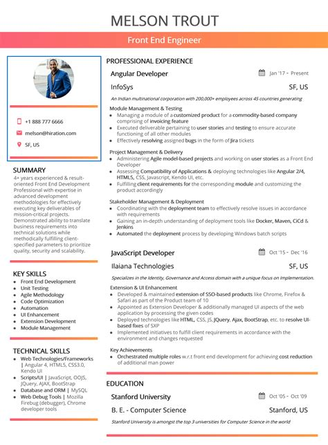 Header For Resume by Resume Header 2019 Guide To Contact Information In