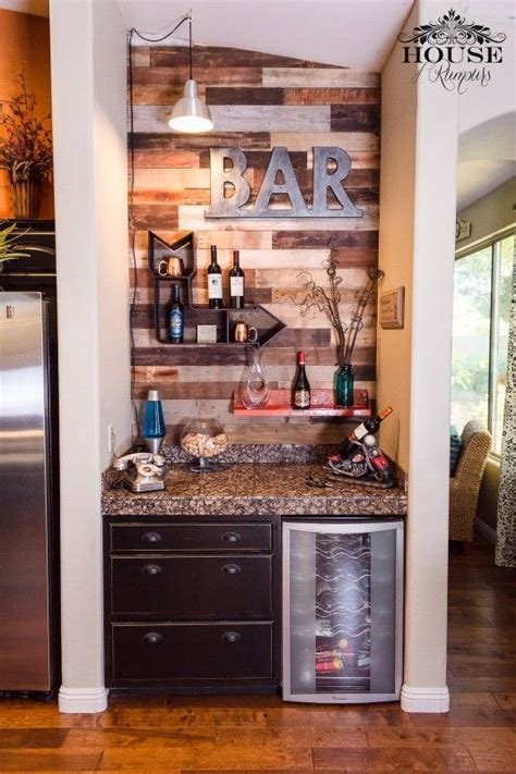 This small coffee station is a unique coffee bar idea by maximizing a small space. basement bar ideas small, basement bar ideas small under stairs, basement bar ideas small family ...