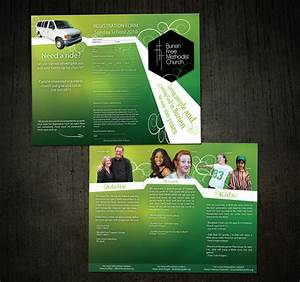 20 brochure design examples ideas for your print projects for Church brochure ideas
