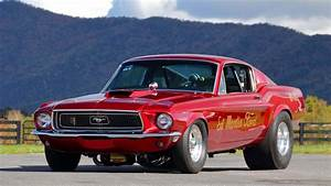 1968, Ford, Mustang, Race, Car, Red Wallpapers HD / Desktop and Mobile Backgrounds