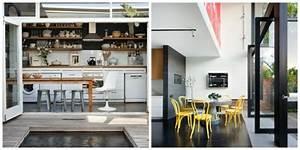 idees amenagement cuisine ouverte sur l39exterieur With idee amenagement cuisine ouverte