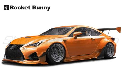 rocket bunny aero lexus rcf shopgreddy
