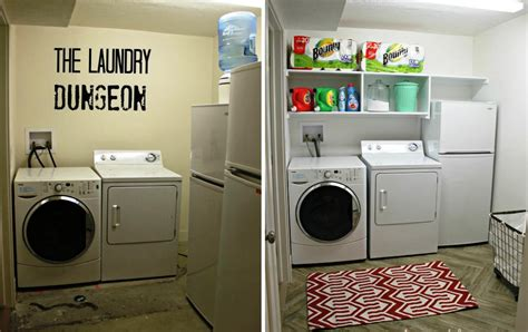 Ideas To Organize Kitchen Cabinets - basement laundry room makeover ideas jburgh homesjburgh homes