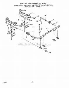 Whirlpool 1395 1a Parts List And Diagram