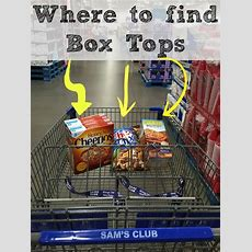 Where To Find Box Tops · The Typical Mom