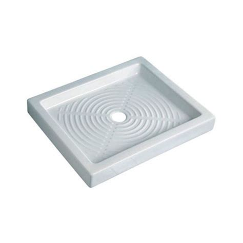 Montaggio Piatto Doccia In Ceramica by Piatto Doccia 65x80 Cm Rettangolare In Porcellana