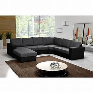 Canape Angle 6 7 Places : canap en u panoramique 6 7 places moderne et design oara tissu ~ Maxctalentgroup.com Avis de Voitures