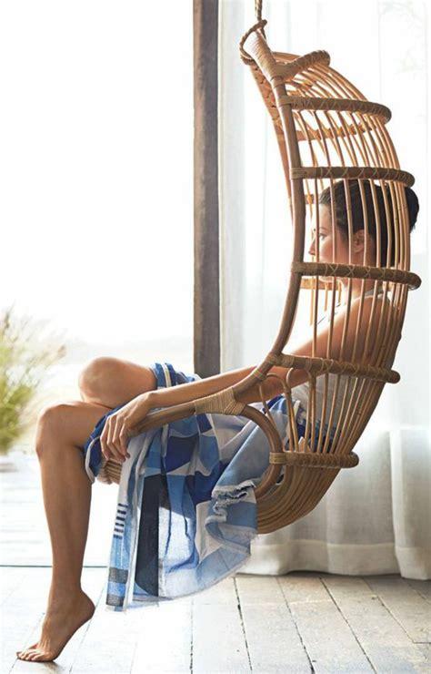 chaise balancoire le fauteuil en rotin les meilleurs modèles archzine fr