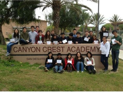 canyon crest academy ranked   high school