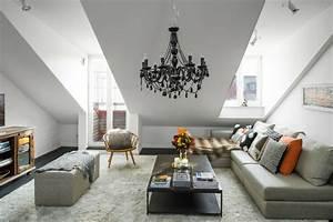 Einrichtung Wohnzimmer Ideen : wohnzimmer einrichtung ideen raum mit dachschr ge ~ Sanjose-hotels-ca.com Haus und Dekorationen