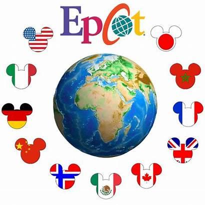 Epcot Clipart Disney Kingdom Mickey Disneyworld Characters