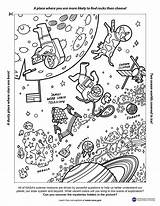 Nasa Week Universe Coloring System Space Europa Clipper Solar Resources Published December Nebula Astronauts Telescope Webb James sketch template
