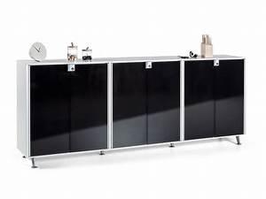 Sideboard Mit Glastüren : aktenschrank block 30 232 x 91 5 x 40 cm ~ Markanthonyermac.com Haus und Dekorationen