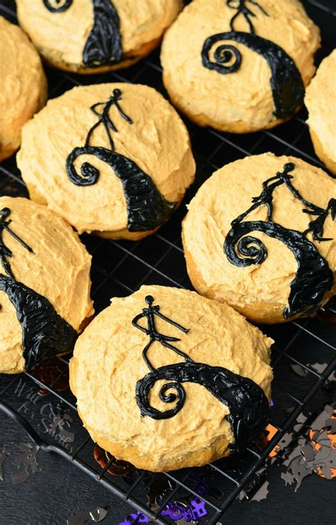 the nightmare before christmas pumpkin cookies will cook