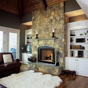 20, Beautiful, Wood, Burning, Fireplace, Designs