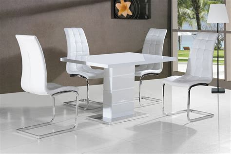 White Gloss Dining Table by New Stunning Maxi White High Gloss Dining Table Dining