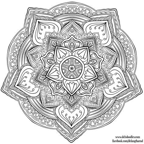 Coloring Krita by Krita Mandala 31 By Welshpixie On Deviantart
