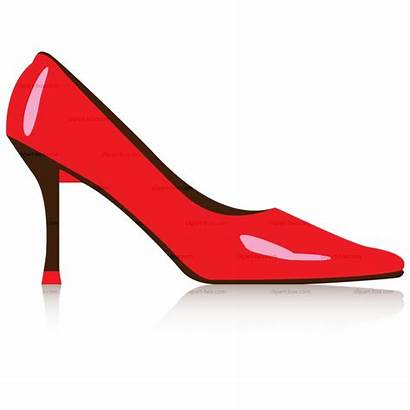 Shoe Shoes Clip Clipart Cliparts Slippers Ruby