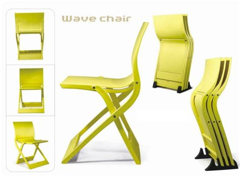 outdoor modern relax folding wave plastic chair twb a906