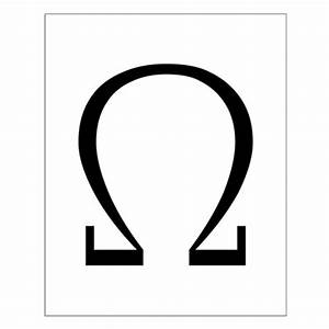Greek Omega Symbol Posters by symbolsonstuff