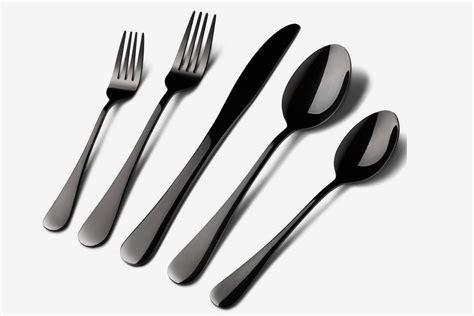 silverware flatware matte steel stainless sets piece