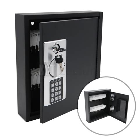 Home Wall Mounted Digital 40 Key Cabinet Secure Box Safe