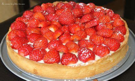 tarte aux fraises pate brisee tarte aux fraises p 226 te sabl 233 e et cr 232 me p 226 tissi 232 re nana et chocolat