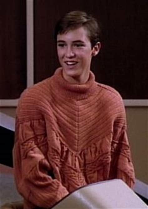 wesley crusher sweater wil wheaton wil wheaton pinup trek nemesis