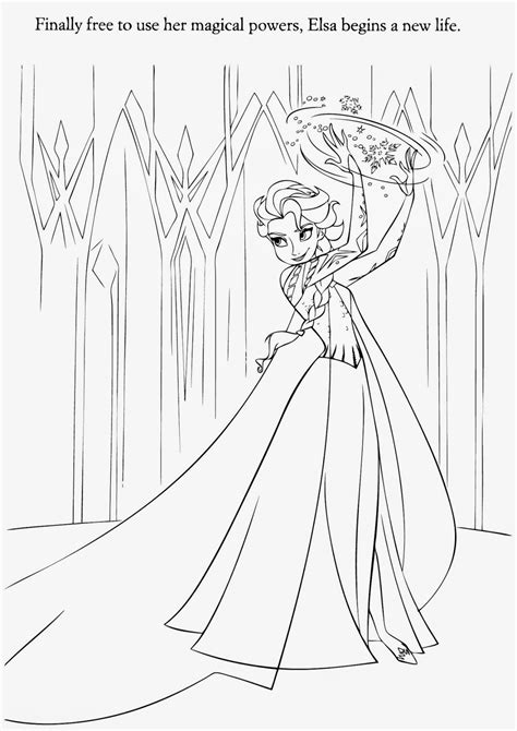 elsa frozen coloring pages  coloring pages
