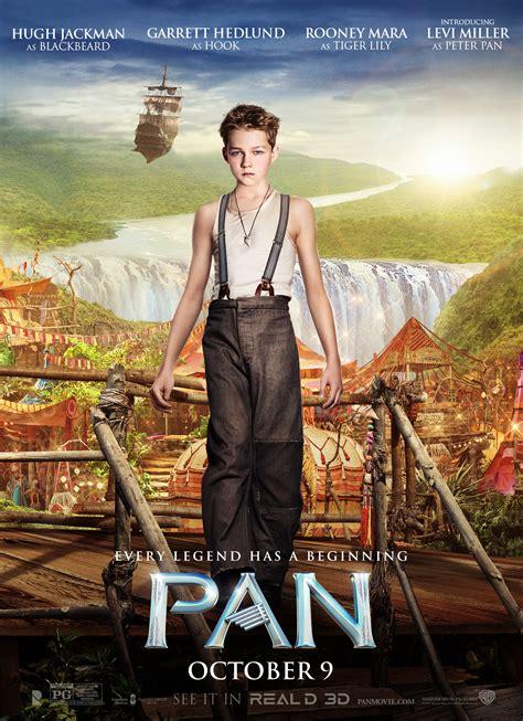exclusive debut  pan character poster peter pan